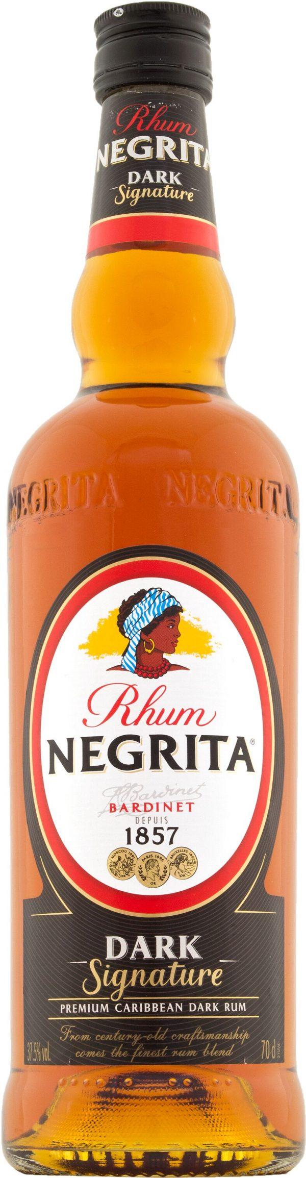 Rhum Negrita Dark Signature 70cl