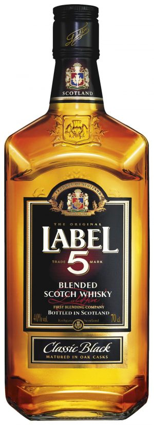 Label 5 Blended Scotch Whisky 70cl