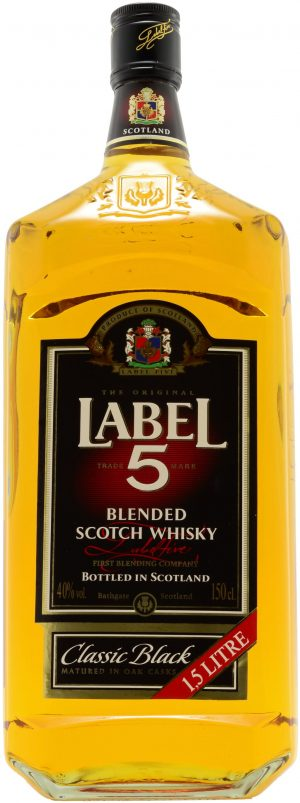 Label 5 Blended Scotch Whisky 150cl