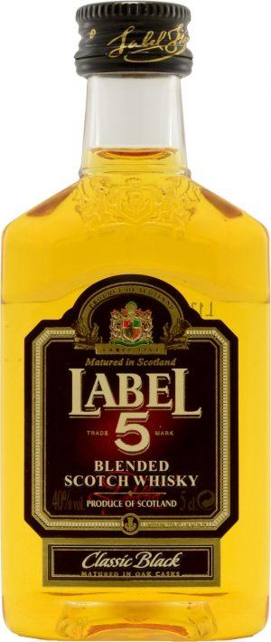 Label 5 Blended Scotch Whisky 5cl