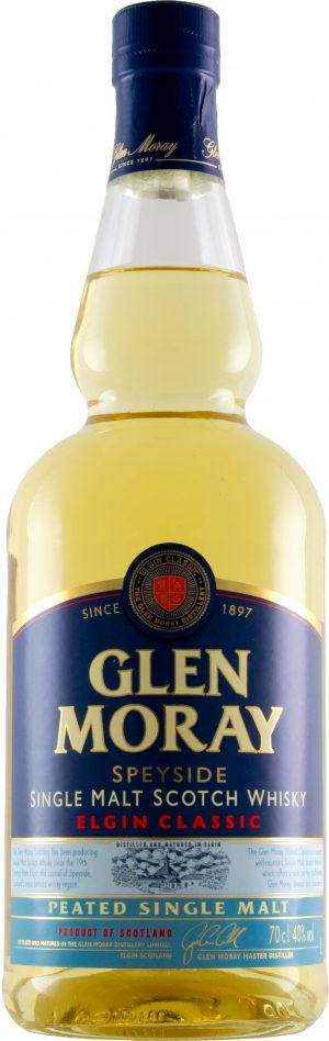 Glen Moray Peated Speyside Single Malt 70cl
