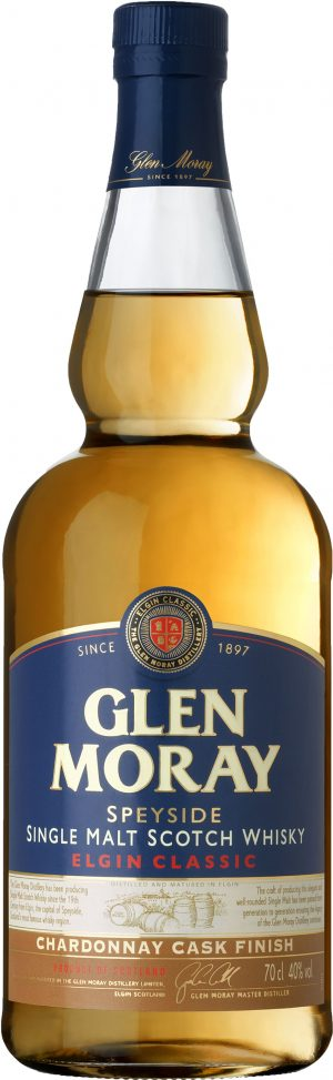 Glen Moray Chardonnay Cask Finish Speyside Single Malt 70cl