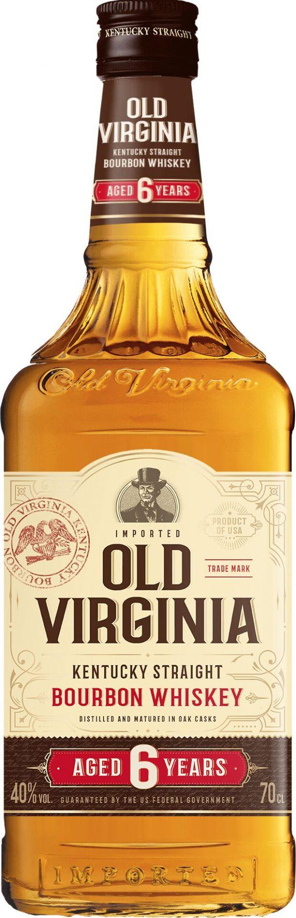 Old Virginia 6 Years Old Kentucky Straight Bourbon 70cl