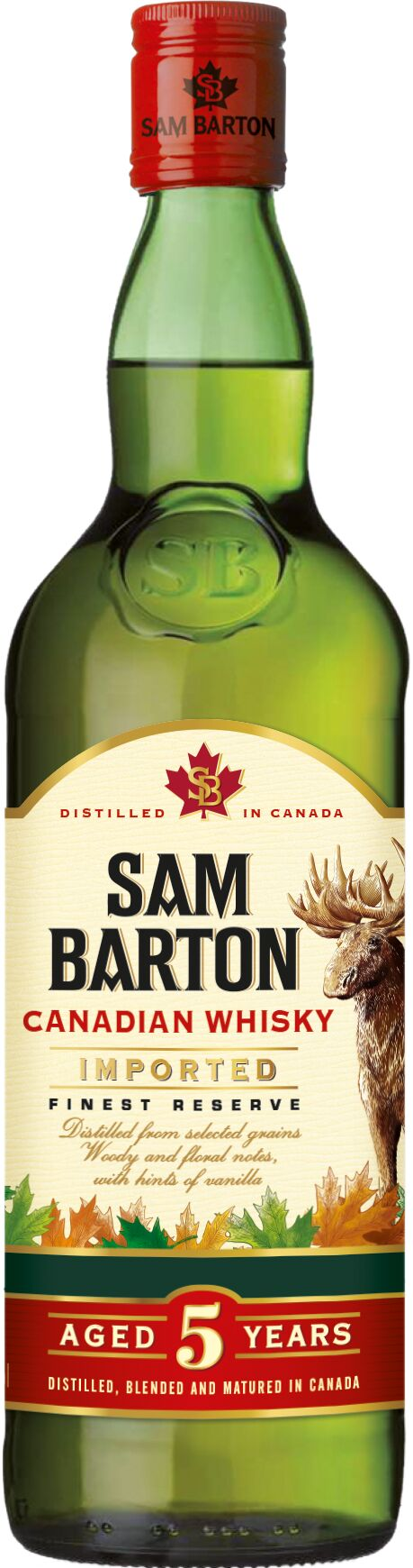 Sam Barton 5 Year Old Canadian Whisky 70cl