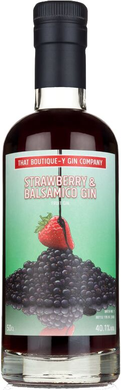 TBGC Strawberry and Balsamico Gin 50cl