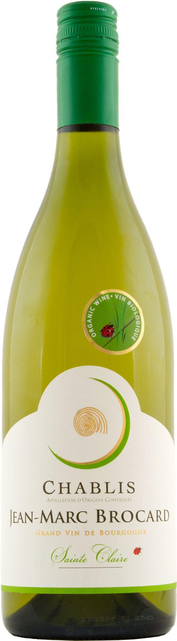 Brocard Chablis Sainte Claire Organic 75cl