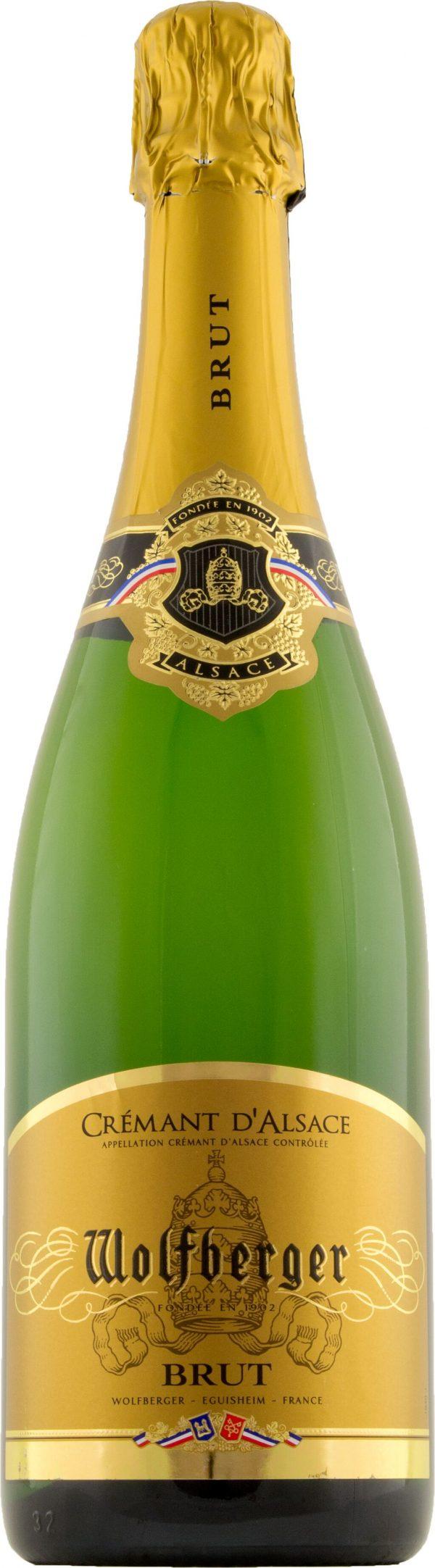 Wolfberger Cremant d'Alsace Brut 75cl