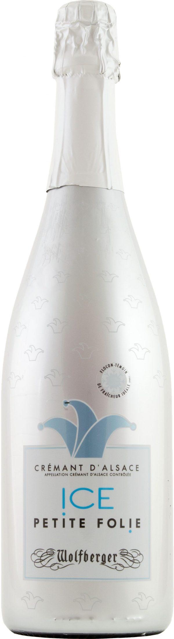 Wolfberger Cremant d'Alsace Ice Petite Demi Sec 75cl