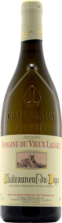 Jerome Quiot Chateaneuf-du-Pape Domaine du Vieux Lazaret Blanc 75cl