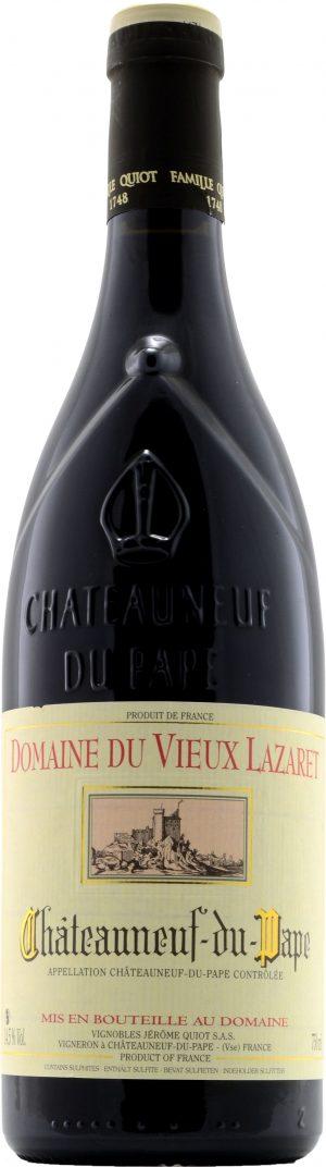 Jerome Quiot Chateaneuf-du-Pape Domaine du Vieux Lazaret Rouge 75cl