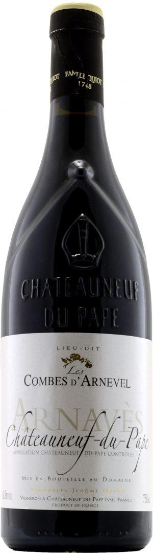 Jerome Quiot Chateauneuf-du-Pape Lieu-Dit Les Combes d'Arnevel 75cl