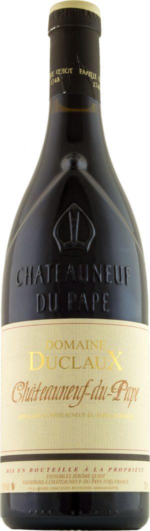 Jerome Quiot Chateauneuf-du-Pape Domaine Duclaux Rouge 75cl