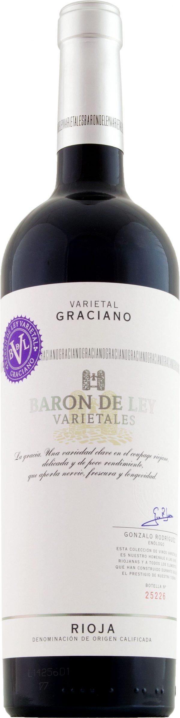 Baron de Ley Varietals Graciano 75cl
