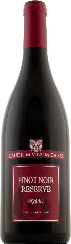 Gaudium Vinum Galos Pinot Noir Reserve Organic 75cl