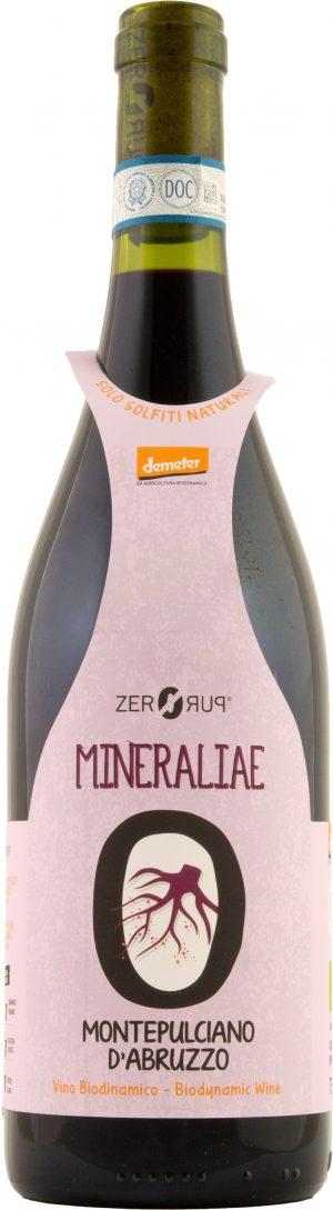 ZeroPuro Mineraliae Montepulciano d'Abruzzo 75cl