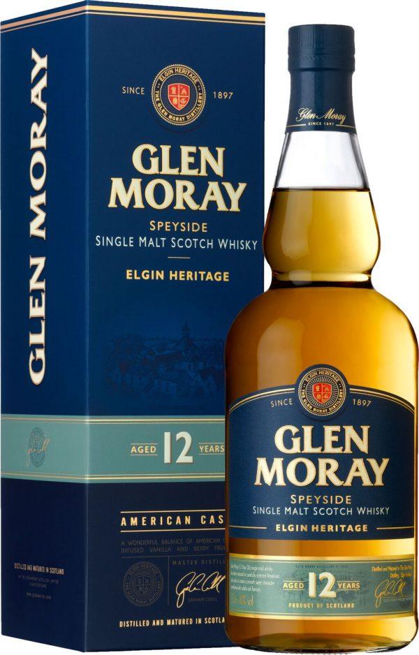 Glen Moray Elgin Heritage 12 Year Old Speyside Single Malt 70cl