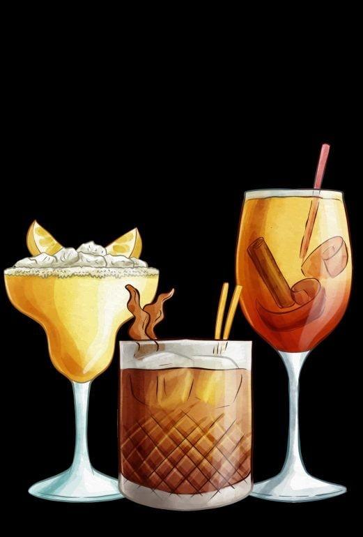 black aromikas drinkki