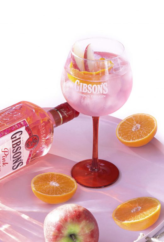 gibson pink drink