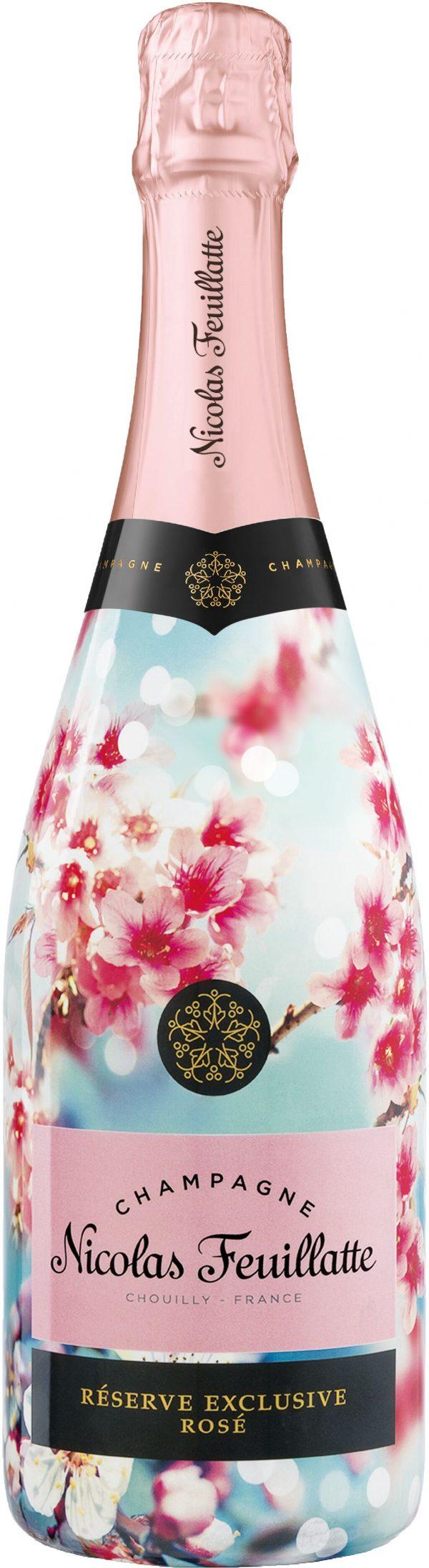 Nicolas Feuillatte Reserve Exclusive Rose Sleeve 75cl