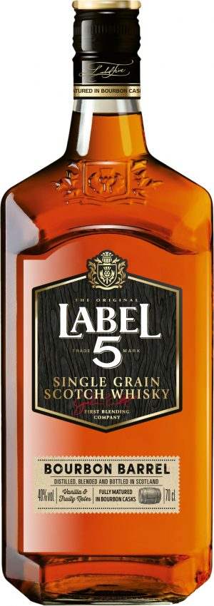 Label 5 Single Grain 70c