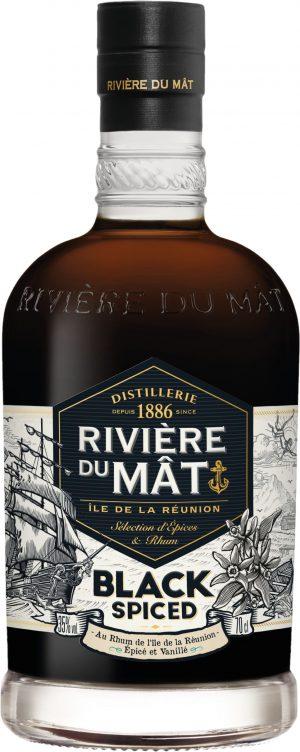 Riviere du Mat Black Spiced Rum 70cl