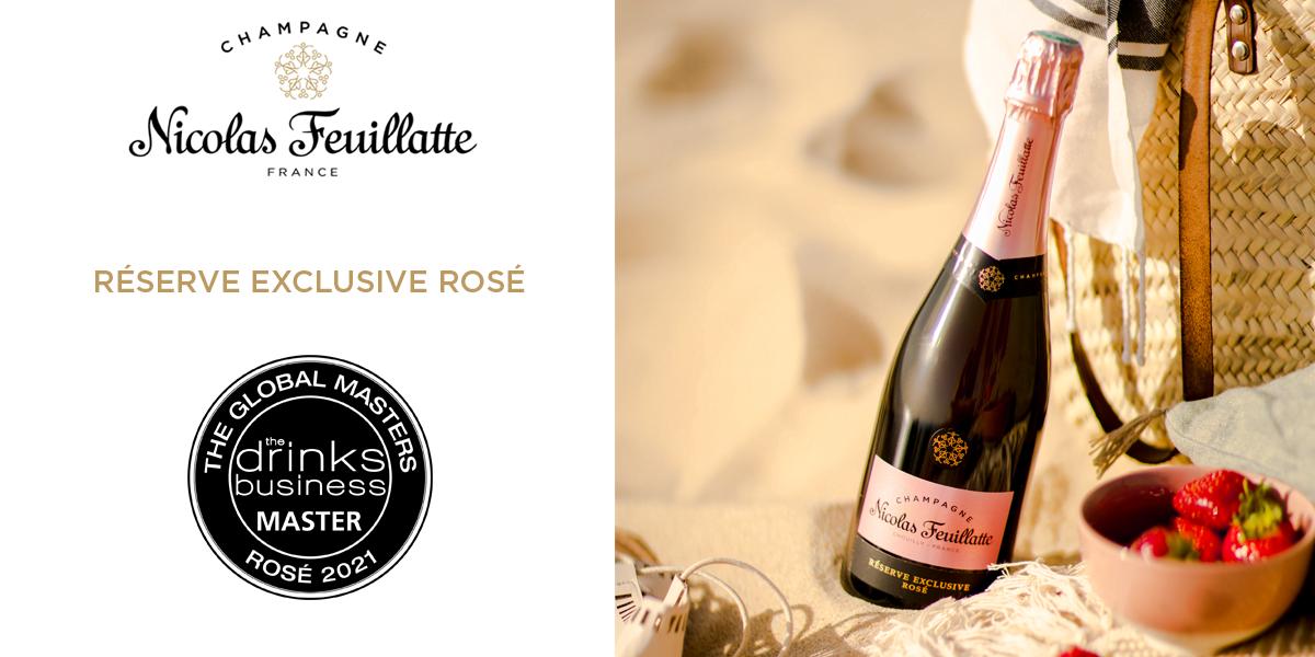 Nicolas Feuillatte Réserve Exclusive Rosé Global Masters