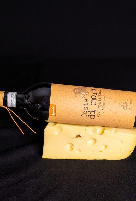 coste di moro ja juusto