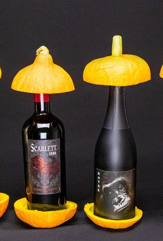 halloween viini combo